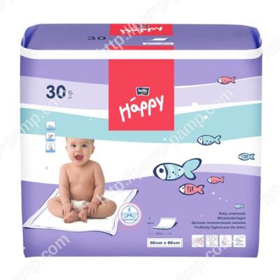Пеленки детские  BELLA BABY HAPPY 60x60 см 30 шт 5900516601676