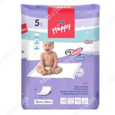 Пеленки детские  BELLA BABY HAPPY 60x90 см 5 шт  5900516600723