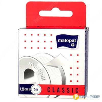 Пластырь медицинский mаtораt CLASSIC 1.25см x 5м 5900516897284