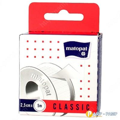 Пластырь медицинский mаtораt CLASSIC 2.5см x 5м  5900516897291