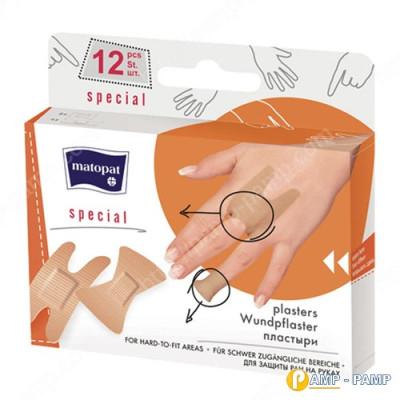Пластырь медицинский mаtораt SPECIAL 12шт 5900516894092