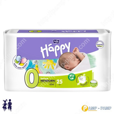 Подгузники детские Bella Baby Happy Before newborn 0-2 кг, 25 шт 5900516601799