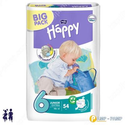 Подгузники детские Bella Baby Happy Junior 6 extra. 16+кг  54 шт 5900516601157