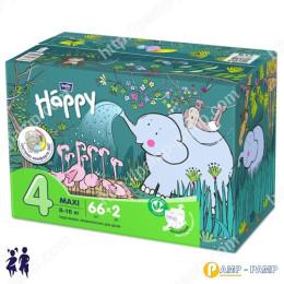 Подгузники детские Bella Baby Happy maxi 8-18 кг 2x66 шт 5900516017330