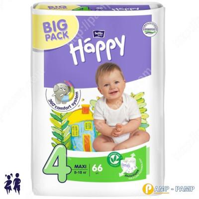 Подгузники детские Bella Baby Happy maxi 8-18 кг 66 шт  5900516602888