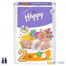 Подгузники детские Bella Baby Happy mini 3-6 кг 38 шт 5900516600709