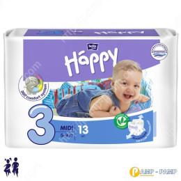 Подгузники детские Bella Baby Happy midi 5-9 кг, 13 шт 5900516600365