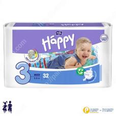 Подгузники детские Bella Baby Happy midi 5-9 кг, 32 шт 5900516600778