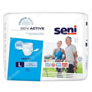 Впитывающие трусы, подгузники для взрослых SENI ACTIVE large 10 шт 5900516690915