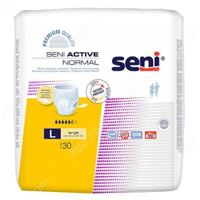 Впитывающие трусы, подгузники для взрослых  SENI Active Normal LARGE 30 шт 5900516697501