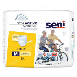 Впитывающие трусы, подгузники для взрослых SENI ACTIVE Normal medium 10 шт 5900516693046