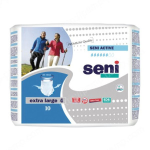 Впитывающие трусы, подгузники для взрослых SENI ACTIVE extra large 10 шт 5900516691844