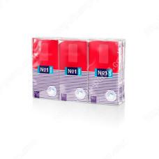 Салфетки бумажные носовые гигиенические, четырехслойные Bella №1 9х6 шт 5900516016623