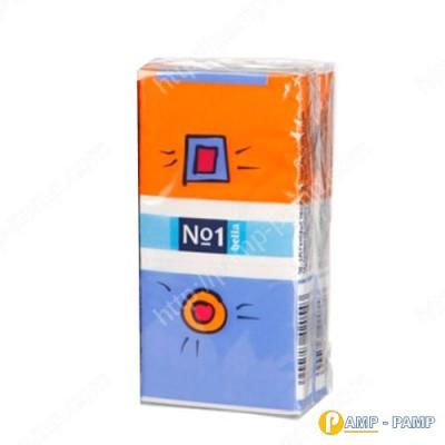 Платки, салфетки носовые гигиенические, трехслойные, BELLA №1 1уп 5900516420543