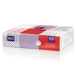 Четырехслойные салфетки Bella №1 100 шт