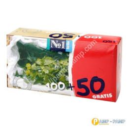 Bella № 1 Салфетки универсальные с ароматом мяты 100 + 50 шт 5900516420345