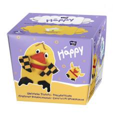 Платочки бумажные Bella Baby Happy двухслойные Цыпленок 40 + 40 шт 5900516421106
