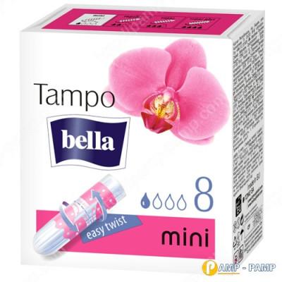 Тампоны женские гигиенические без аппликатора Tampo Bella Premium Comfort mini 8 шт 5900516320270
