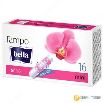 Тампоны женские гигиенические без аппликатора Tampo Bella Premium Comfort mini 16 шт  5900516320287