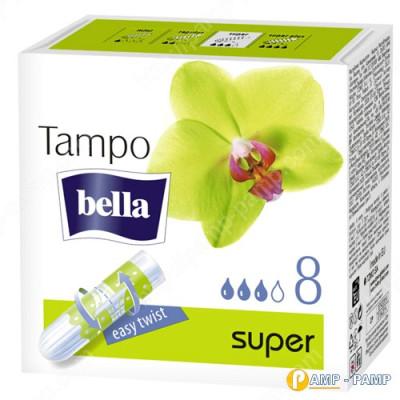 Тампоны женские гигиенические без аппликатора Tampo Bella Premium Comfort super 8 шт 5900516320331