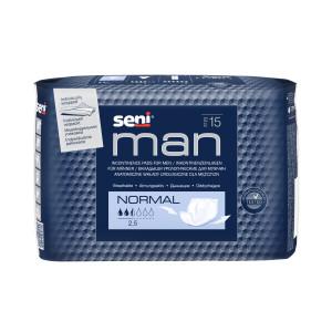 Урологические вкладыши, прокладки  для мужчин Seni Man normal 15 шт 5900516694784