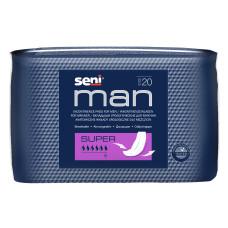 Урологические вкладыши, прокладки для мужчин Seni Man super 20 шт 5900516691059