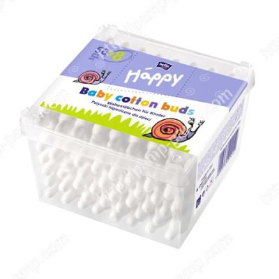 Ватные палочки с ограничителем BELLA Baby Happy для детей, 56+8 шт BB-081-P064-007