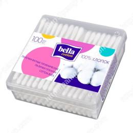 Ватные палочки Bella Cotton, в прямоугольной коробке, 100 шт. 5900516400293